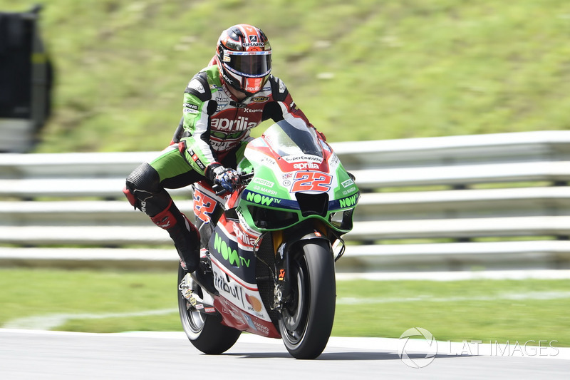20. Sam Lowes, Aprilia Racing Team Gresini