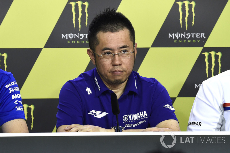 Kouji Tsuya, Yamaha Factory Racing