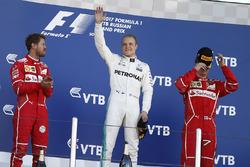 Podium: 1. Valtteri Bottas, Mercedes AMG F1; 2. Sebastian Vettel, Ferrari; 3. Kimi Räikkönen, Ferrari