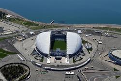 Vista aérea del circuito de Sochi