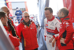 Kris Meeke, Citroën World Rally Team, Carlos Tavares, PSA Chairman