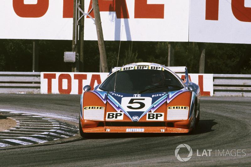 #5 WM P76 Peugeot: Guy Chasseuil, Claude Ballot-Lena, Xavier Mathiot