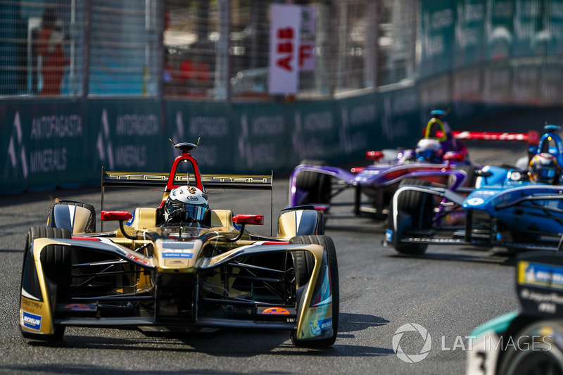 Andre Lotterer, Techeetah, Sébastien Buemi, Renault e.Dams, Sam Bird, DS Virgin Racing