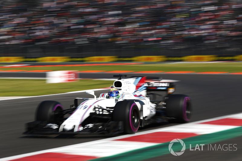 12. Felipe Massa, Williams FW40