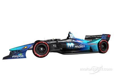 Dale Coyne Racing livery aankondiging