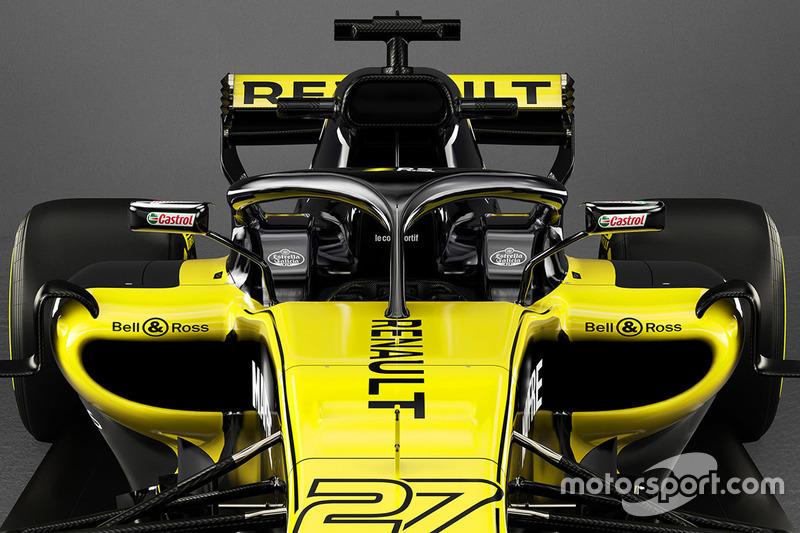 فورمولا 1 سيارات موسم 2018