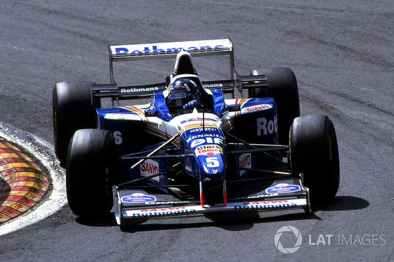 7. Williams FW18 - 1996