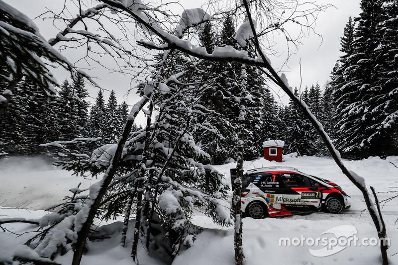 Jari-Matti Latvala, Miikka Anttila, Toyota Yaris WRC, Toyota Gazoo Racing