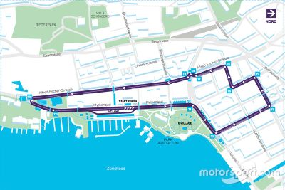 Presentación del circuito del ePrix en Zurich