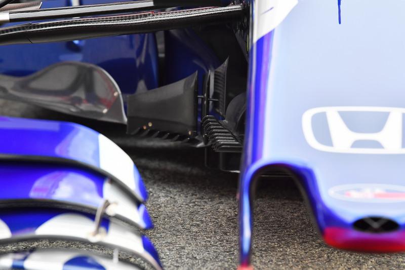 Аэродинамический элемент Scuderia Toro Rosso STR13