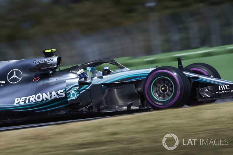 2: Валттері Боттас, Mercedes AMG F1 W09, 1'11.416