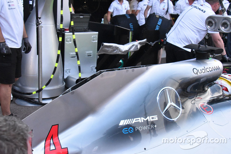 Monaco gp latest f1 tech updates direct from the garages for Garage mercedes monaco
