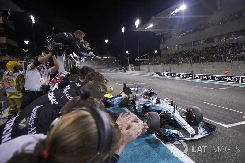 11º Valtteri Bottas - 18 corridas - De Mônaco 2017 até agora - Mercedes