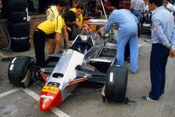 Mekanikerler ve Ferrari 126C2, Didier Pironi