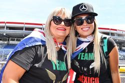 Fans of Lewis Hamilton, Mercedes-AMG F1
