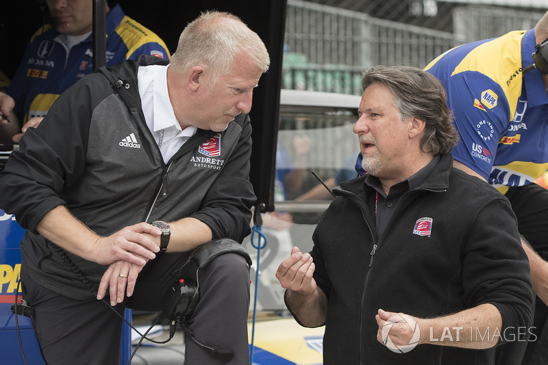 Rob Edwards y Michael Andretti, Andretti Autosport Honda