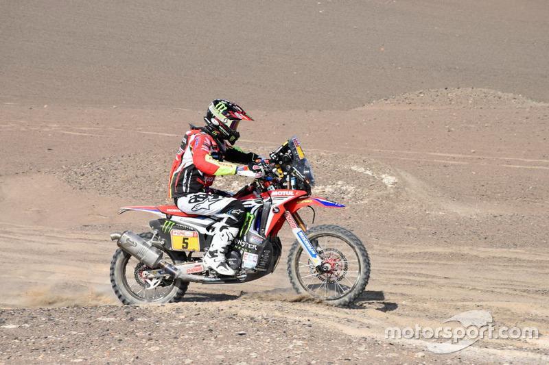 Хоан Барреда Борт, Honda #6