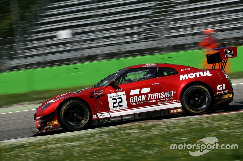 #22 GT SPORT MOTUL Team RJN Nissan GT-R Nismo GT3: Struan Moore, Ricardo Sanchez, Jordan Witt