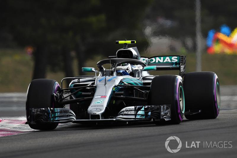 2: Valtteri Bottas, Mercedes-AMG F1 W09, 1'30.147