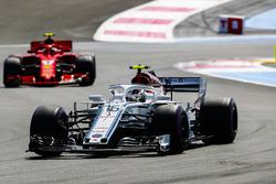 Шарль Леклер, Sauber C37, Кімі Райкконен, Ferrari SF71H