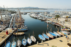 De haven in Sanary sur Mer