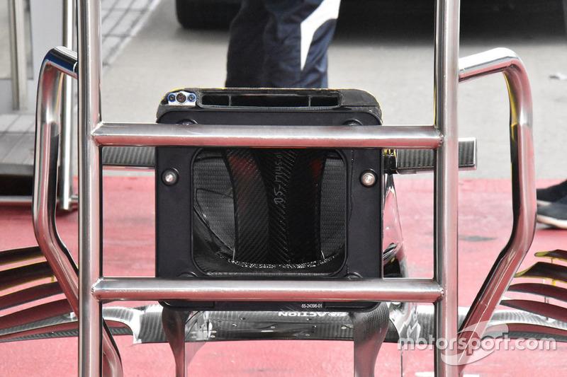 Renault Sport F1 Team R.S. 18 nose detail