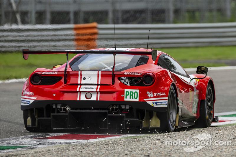 Тони Виландер, Пипо Дерани, AF Corse, Ferrari 488 GTE Evo (№52)