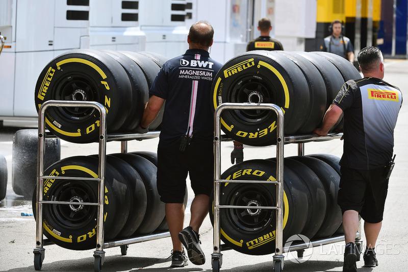 Force India F1 Mecánica y neumáticos Pirelli