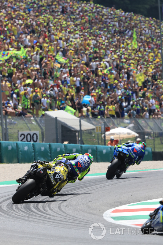 Andrea Iannone, Team Suzuki MotoGP, Valentino Rossi, Yamaha Factory Racing, Danilo Petrucci, Pramac Racing