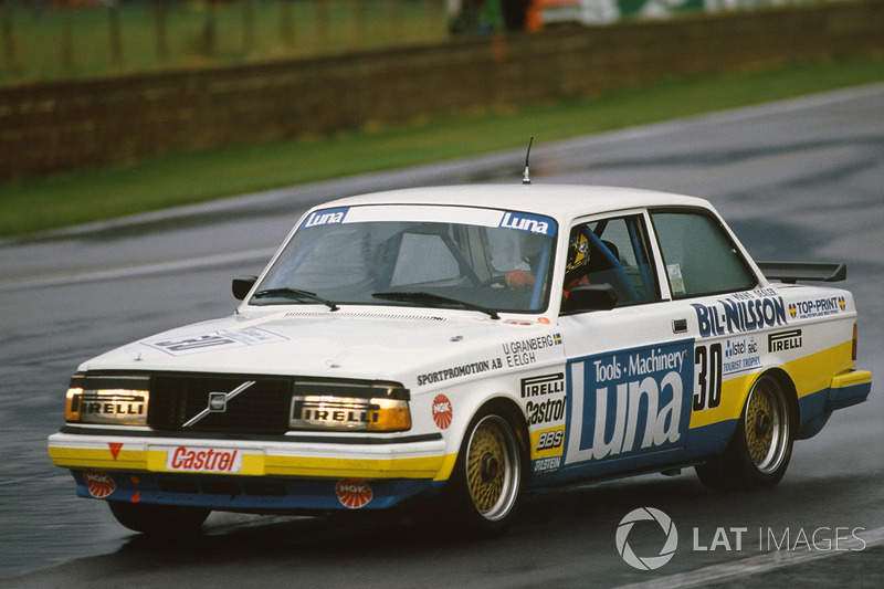 Ulf Granberg, Eje Elgh, Volvo 240 Turbo