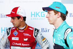 Lucas di Grassi, Audi Sport ABT Schaeffler, Oliver Turvey, NIO Formula E Team