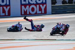 Sturz: Scott Redding, Pramac Racing