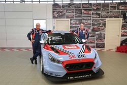 Gabriele Tarquini, BRC Racing Team, Norbert Michelisz, BRC Racing Team, Hyundai i30 N TCR
