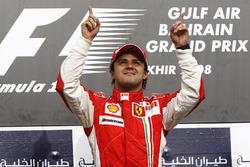 Ganador de la carrera Felipe Massa, Ferrari