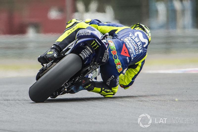 Valentino Rossi, Yamaha Factory Racing, flame