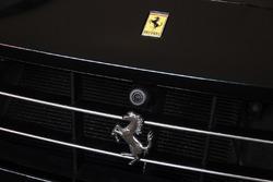 Dettaglio del cavallino rampante su una Ferrari