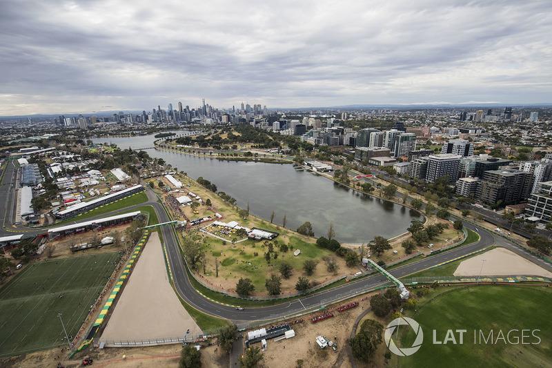 GP Australia dari udara