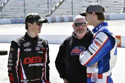 Harrison Burton, Kyle Busch Motorsports, Toyota Tundra DEX Imaging and Todd Gilliland, Kyle Busch Motorsports, Toyota Tundra Mobil 1