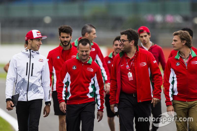Pierre Gasly, Prema Racing; Antonio Giovinazzi, Prema Racing