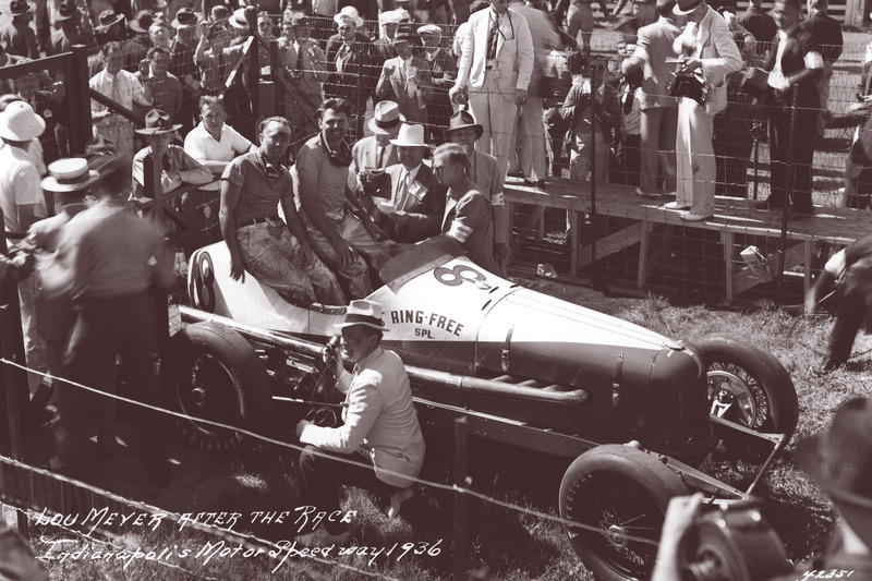 Pemenang Indy500 1936, Louis Meyer