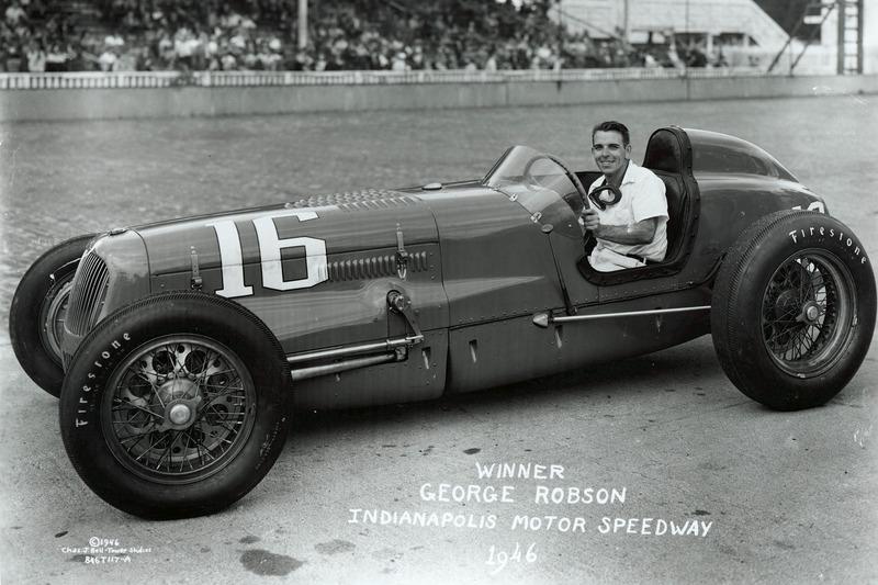 1946: George Robson (1942 tot 1945 geen Indy 500; Tweede Wereldoorlog)