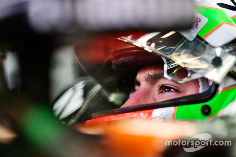 Alfonso Celis Jr., pilota sviluppatore Sahara Force India F1 VJM09