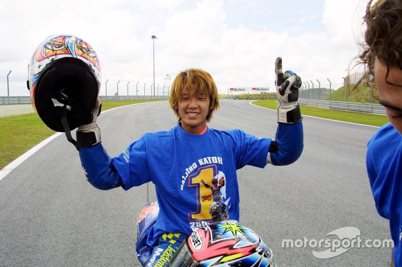 2001 - Premier titre en 250cc