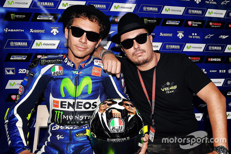 """Blues Brothers: Valentino Rossi und Kumpel Alessio """"Uccio"""" Salucci"""