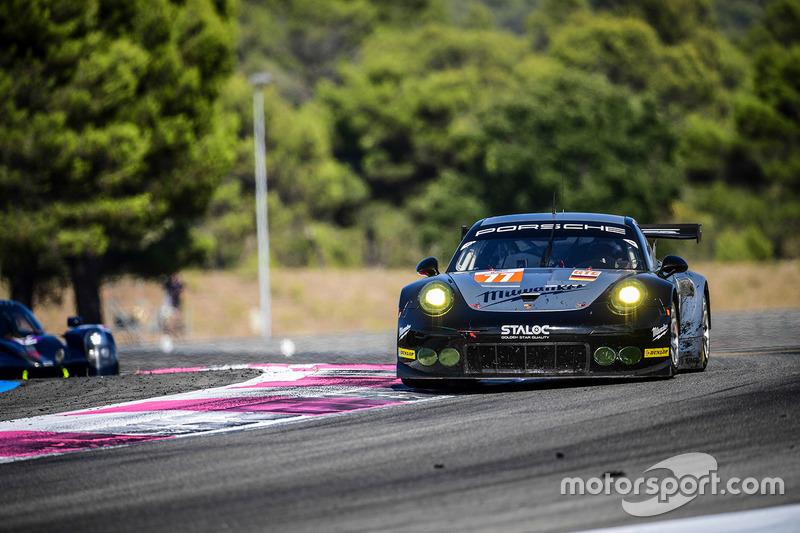 #77 Proton Competition Porsche 911 RSR 991: Mike Hedlund, Marco Seefried, Wolf Henzler