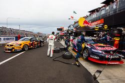 Shane van Gisbergen, Alexander Premat, Triple Eight Race Engineering Holden en Will Davison, Jonatho
