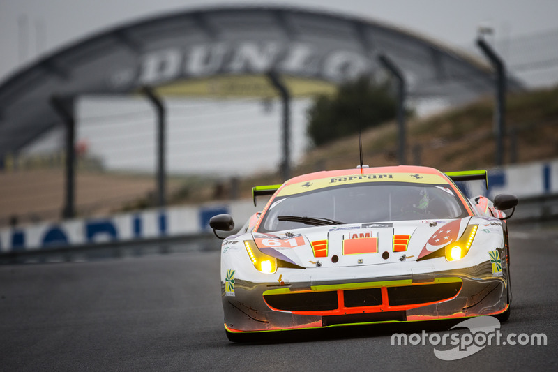 1. LMGTE-Am: #61 Clearwater Racing, Ferrari 458 Italia