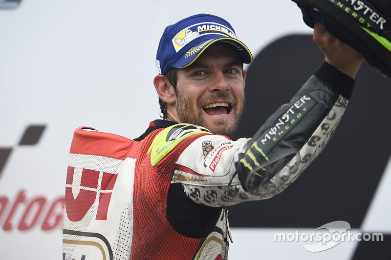 Подіум: Переможець гонки Кел Кратчлоу, Team LCR Honda