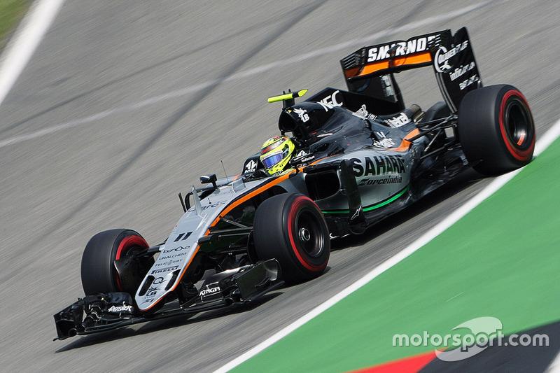 Sergio Pérez, Sahara Force India F1 VJM09