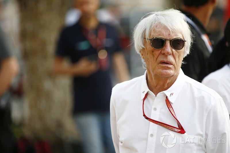 Bernie Ecclestone, Chairman Emiritus of Formula 1